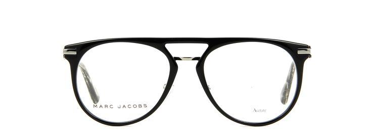 Lunettes de vue MARC JACOBS MJ 634 KTI 53/18 Homme NOIR/ECAILLE Ovale Cerclée Tendance 53mmx18mm 200€.