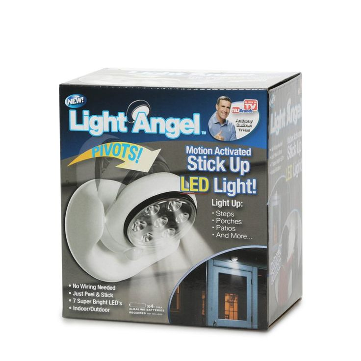 As Seen on TV Motion Activated Portable LED Light - Hollar | So. Much. Good. Stuff