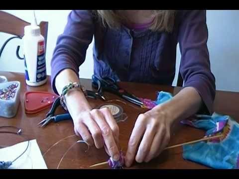 How to Make Fabric Beads Tutorial!