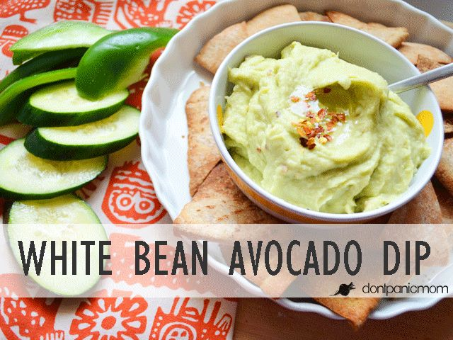 Spicy White Bean And Avocado Dip Recipe — Dishmaps