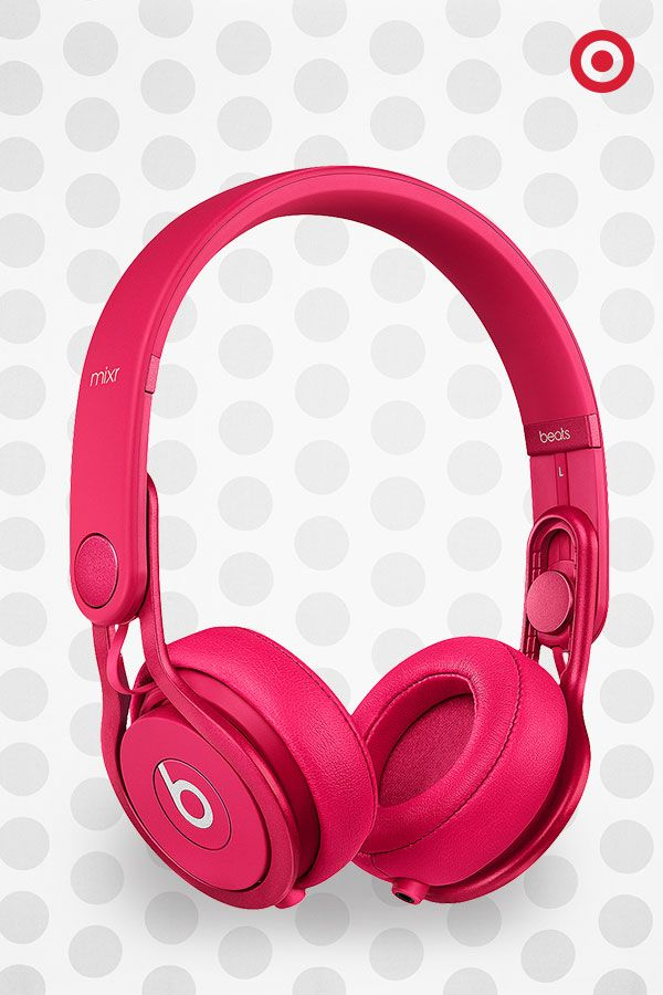 A Dr. Dre and David Guetta collaboration— sounds like the perfect gift for any DJ or audiophile. They feature the signature Beats by Dre style and sound, and come in this bold pink hue (and other colors, too). ($169.99)