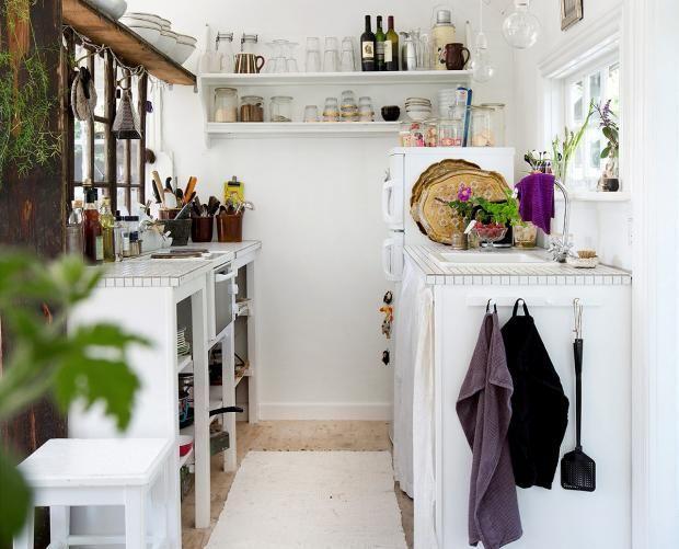 Kleine Kuche Mit Kombusen Charme Bild 3 Kleine Raume Einrichten Raum Einrichten Schoner Wohnen