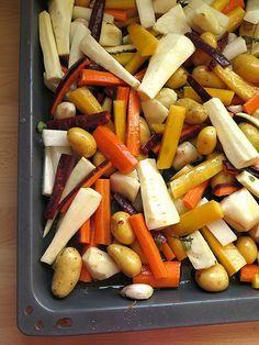 Légumes rôtis au four 28 legumes