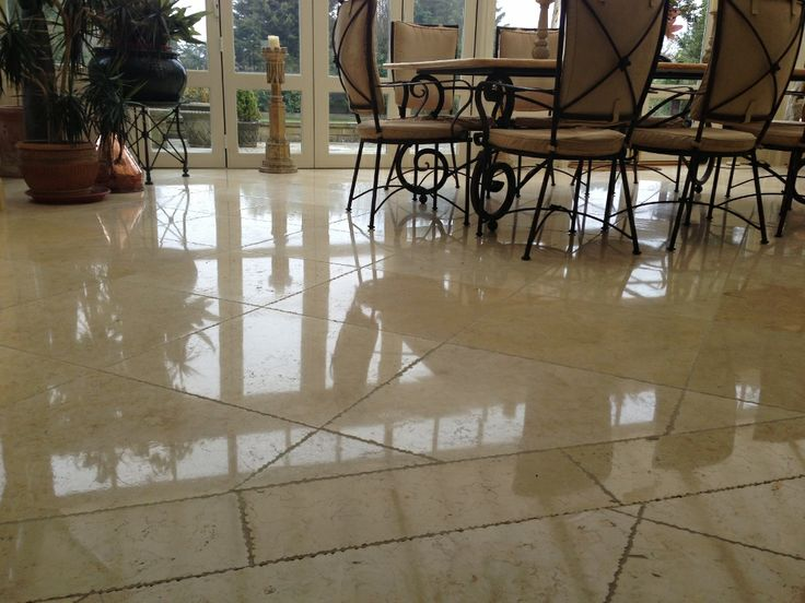 Limestone floor cleaning and sealing Cobham, Surrey    http://www.floorpolishingservices.co.uk/marble-travertine-limestone-terrazzo-floor-cleaning-surrey-sussex/