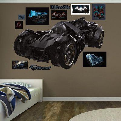 Fathead DC Comics Batmobile - Arkham Knight Peel and Stick Wall Decal