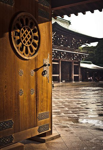 Meiji Shrine - this is the most famous Shinto Shrine dedicated to the Emperor Meiji and his consort