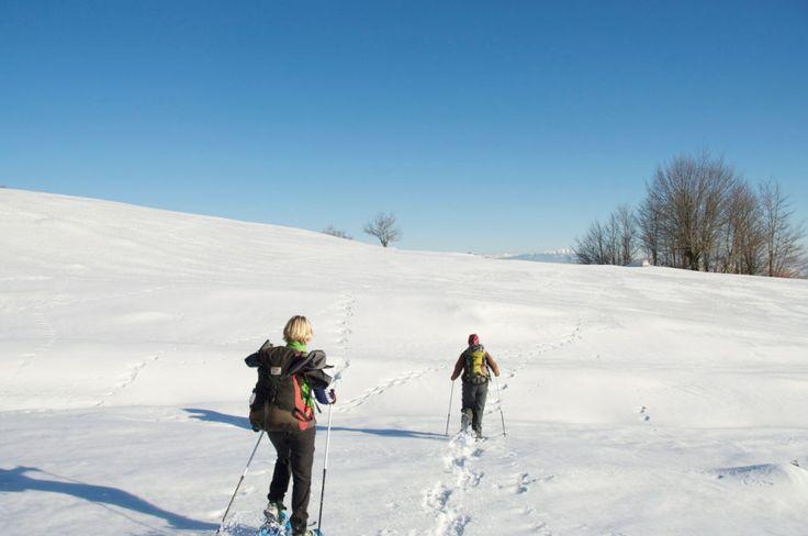 Snowshoeing into Kosovo