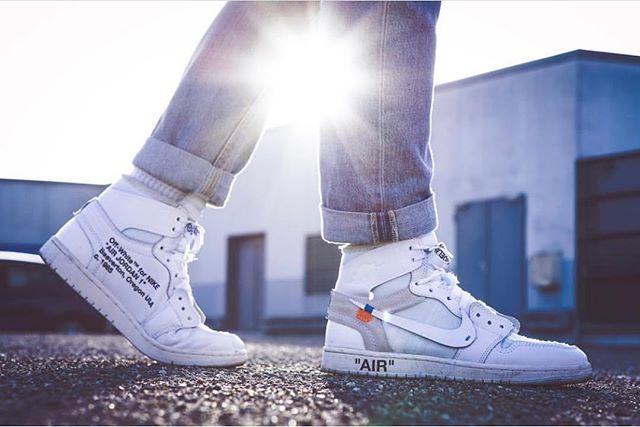 3915afb85c4 Off White x Nike Air Jordan 1 by @vall_he / @susi_supersatz #nike ...