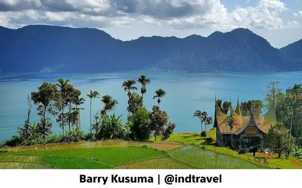 Danau Maninjau Indonesia.Travel