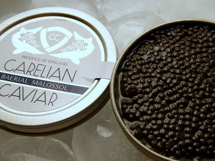 This brand of caviar is 100_ sustainable and  produced in #nordic waters…
