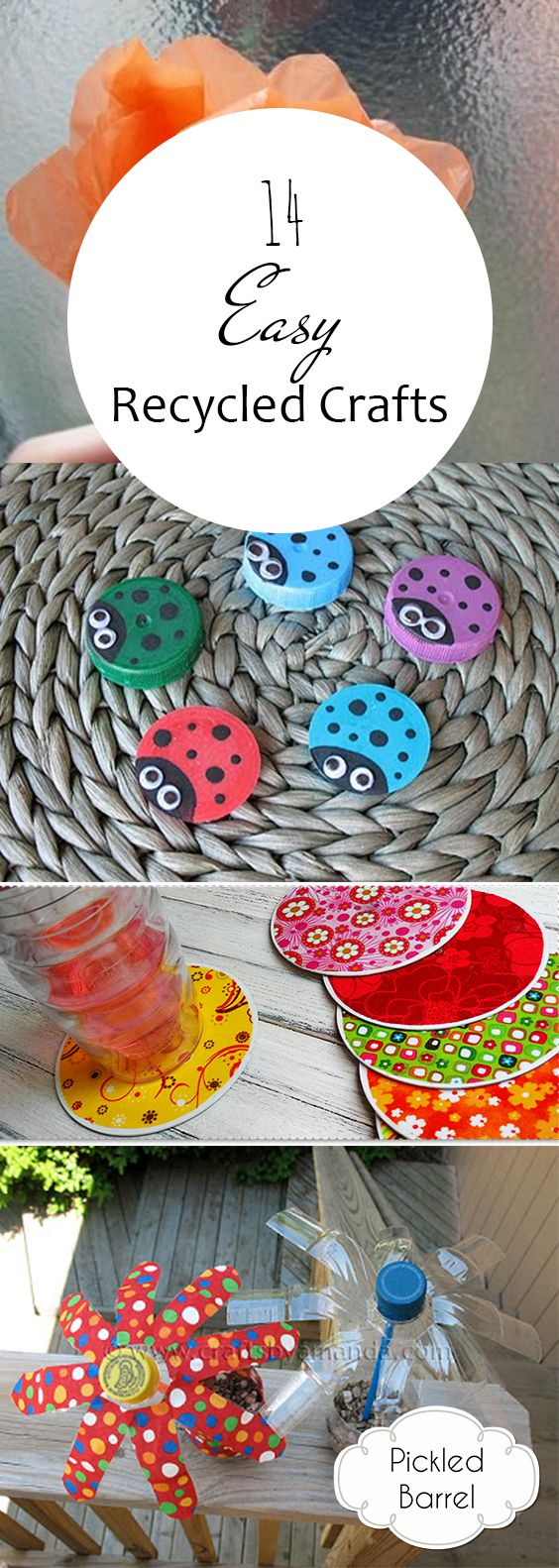 14 Easy Recycled Crafts
