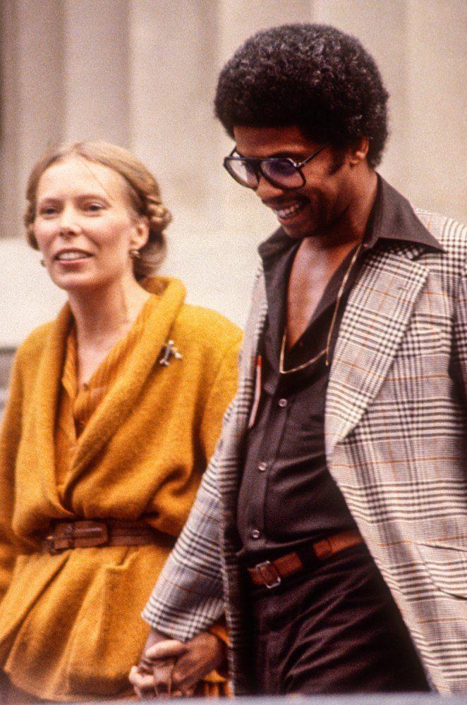 "themaninthegreenshirt: "" Herbie Hancock and Joni Mitchell, Berkeley, 1978. by Ed Perlstein """