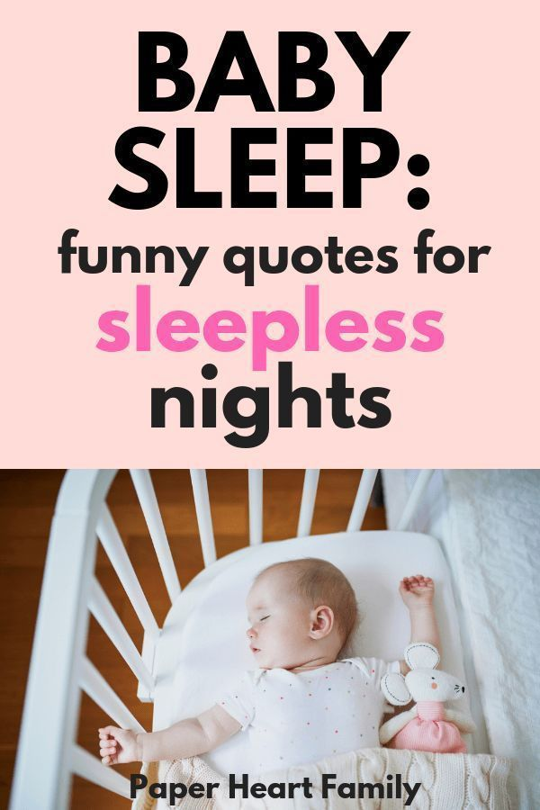Baby Sleep Quotes Sweet And Funny Quotes About Your Baby S