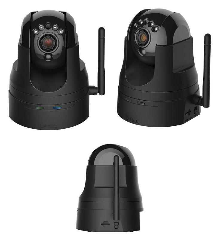 Wireless Surveillance Camera System Pan Tilt Security Equipment Day Night Vision #DLink