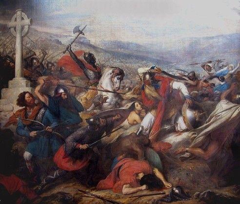 <전쟁4> 샤를 드 스토이벤 '732년 10월 푸아티에 전투'