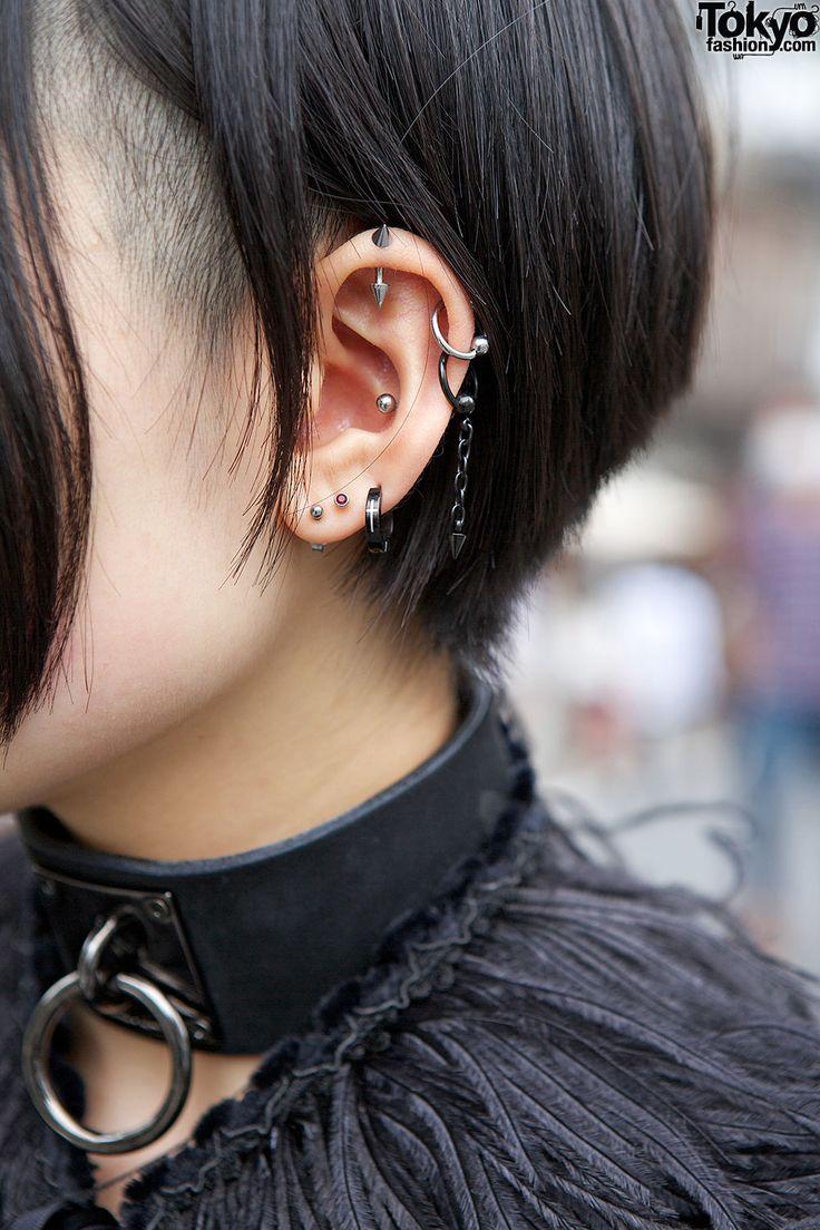 3rd piercing ideas   best Piercings images by Yuchan  on Pinterest  Piercing