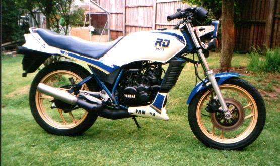 Yamaha Rd Lc 125