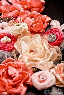 Szép kis virág tutorial gyűjtemény... és egyéb leírások tömege. :)  Rhonna DESIGNS: diy tutorials