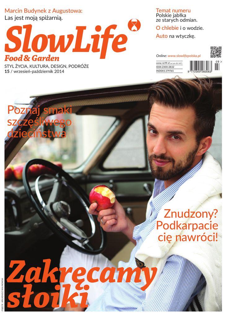 Okładka najnowszego wydania SlowLife Food & Garden