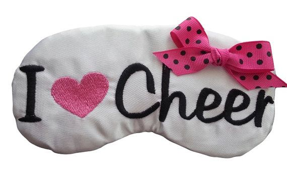 Cheerleader Spirit Gifts I Heart Cheer by EmbroideryBySabrina, $10.00