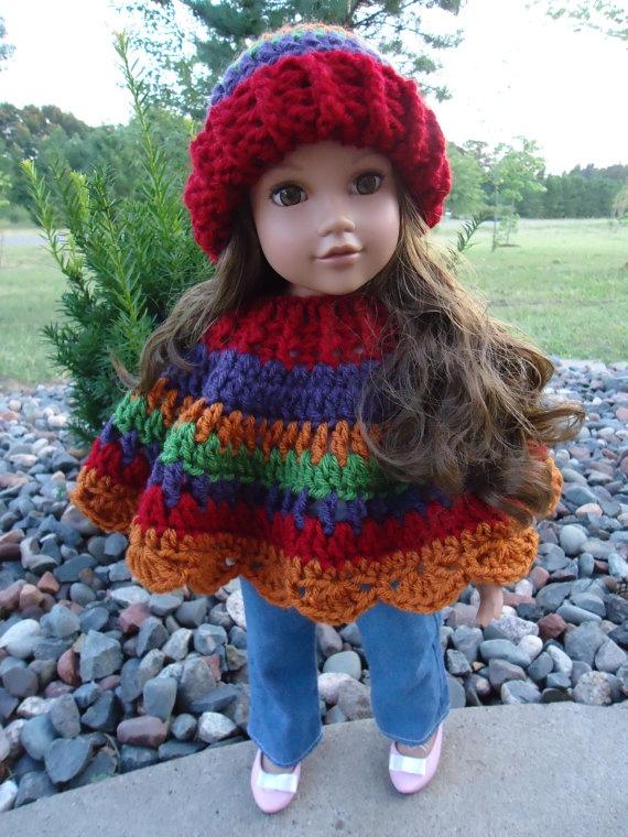 American Girl Doll Clothes  Crocheted by KaraAndMollysDollies, $14.00
