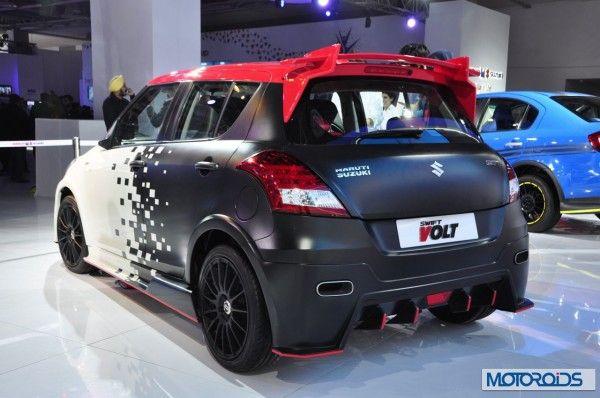 Auto Expo 2014 LIVE: Maruti Suzuki Swift Volt [Images & Details] - Motoroids.com
