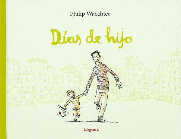 """Con humor e ironía, Philip Waechter nos narra la casi increíble suerte de ser padre. Nos presenta al padre """"primerizo"""" para el que de pronto todo es un pequeño milagro, que se emociona ante cosas profanas como cambiar los primeros pañales, los primeros dolores de tripa o la """"guerra"""" con la remolacha roja."""