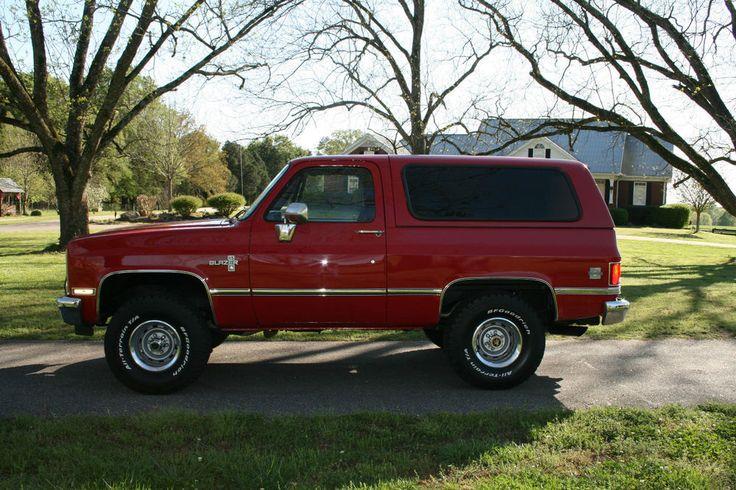 1988 Chevrolet Blazer K5 Blazer