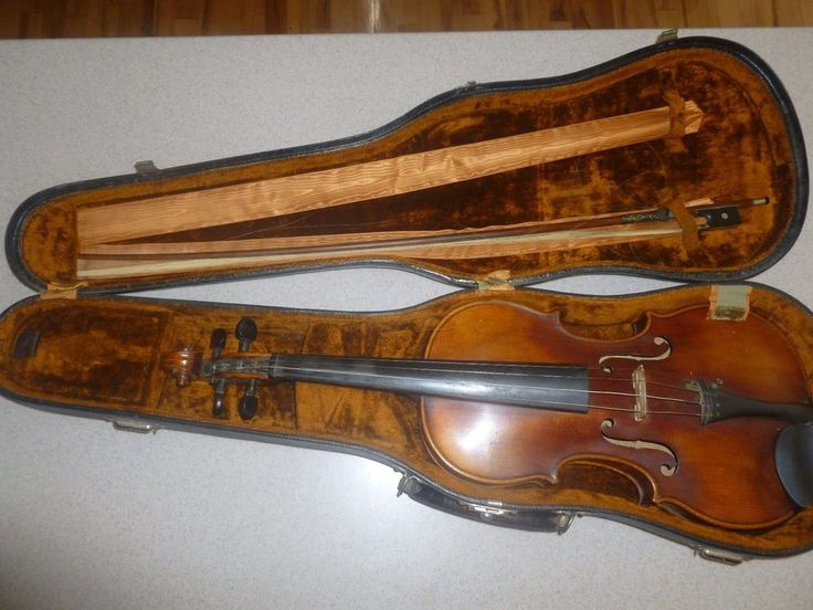 Antique Jacobus Stainer 1668 Model Violin Copy Maple Germany Bow & Case Bundle #JacobusStainerCopy