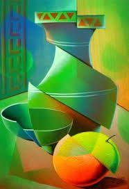 Resultado de imagen para bodegon abstracto geometrico