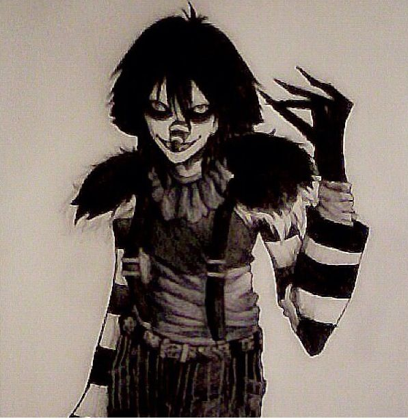 Laughing Jack is by far the Scariest creepypasta in the world - Not! Jeff the Killer and Slender seem to hold those titles. Hence the battles maybe?