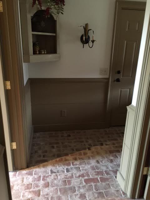 Entryways and hallways - Inglenook Brick Tiles - thin ...