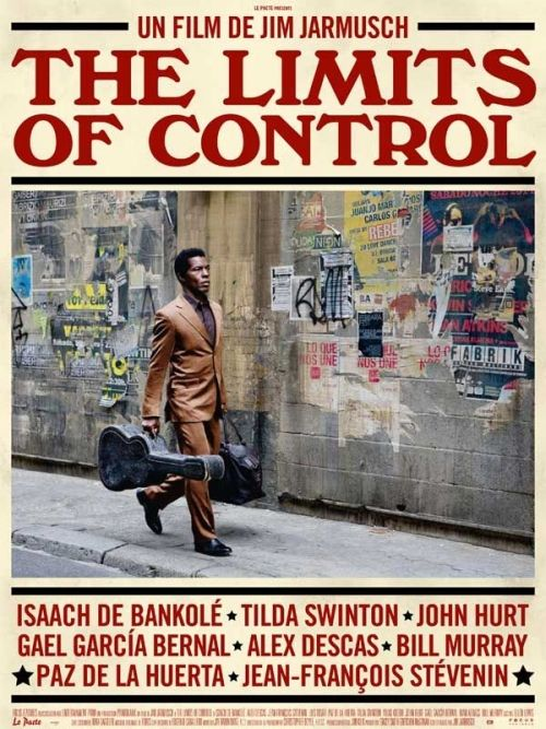French poster for The Limits of Control (2009) by Jim Jarmusch.