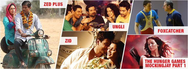 #Movies releasing today! 28th Nov 2014