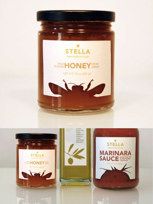 Lovely honey. Stella - packaging / labels concept by Mergime Raci