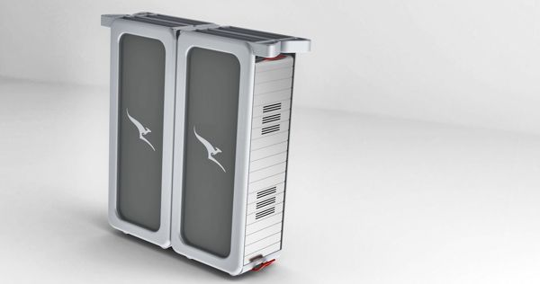 Food and Beverage Service Cart - QANTAS concept on Behance | Airline ...