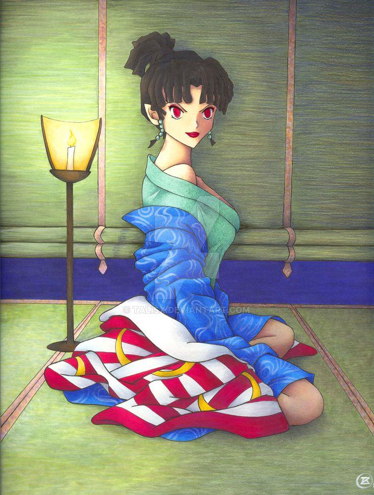 Sesshomaru x Kagura by DiamondLauper on DeviantArt