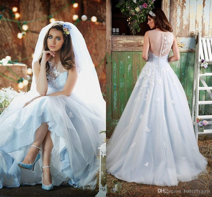Cheap Blue Colored Wedding Dresses Buy Quality Dress Directly From China Color Suppliers Bohemian Ice Colorful