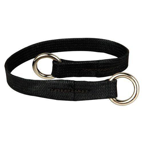 Resco Professional Dog Choke Collar, 3/8-Inch Wide x 24 Inches Long, Black