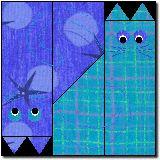 Tesselcats mit Vorlage