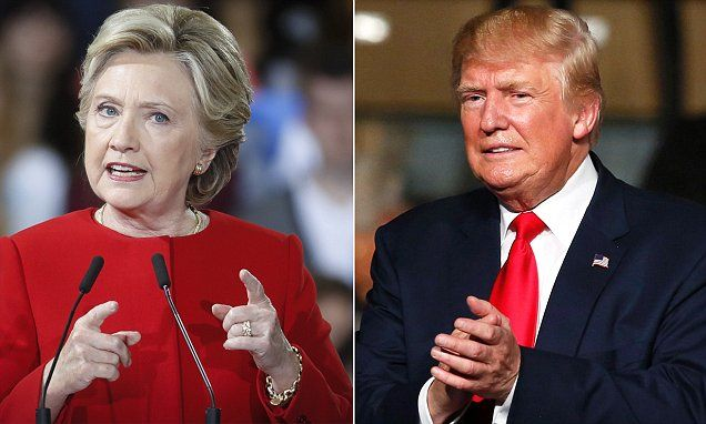 Trump now LEADS Clinton in latest national tracking poll