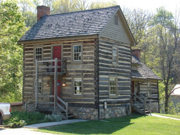 I Love This Log Cabin It 39 S The White Oak Tea Tavern In