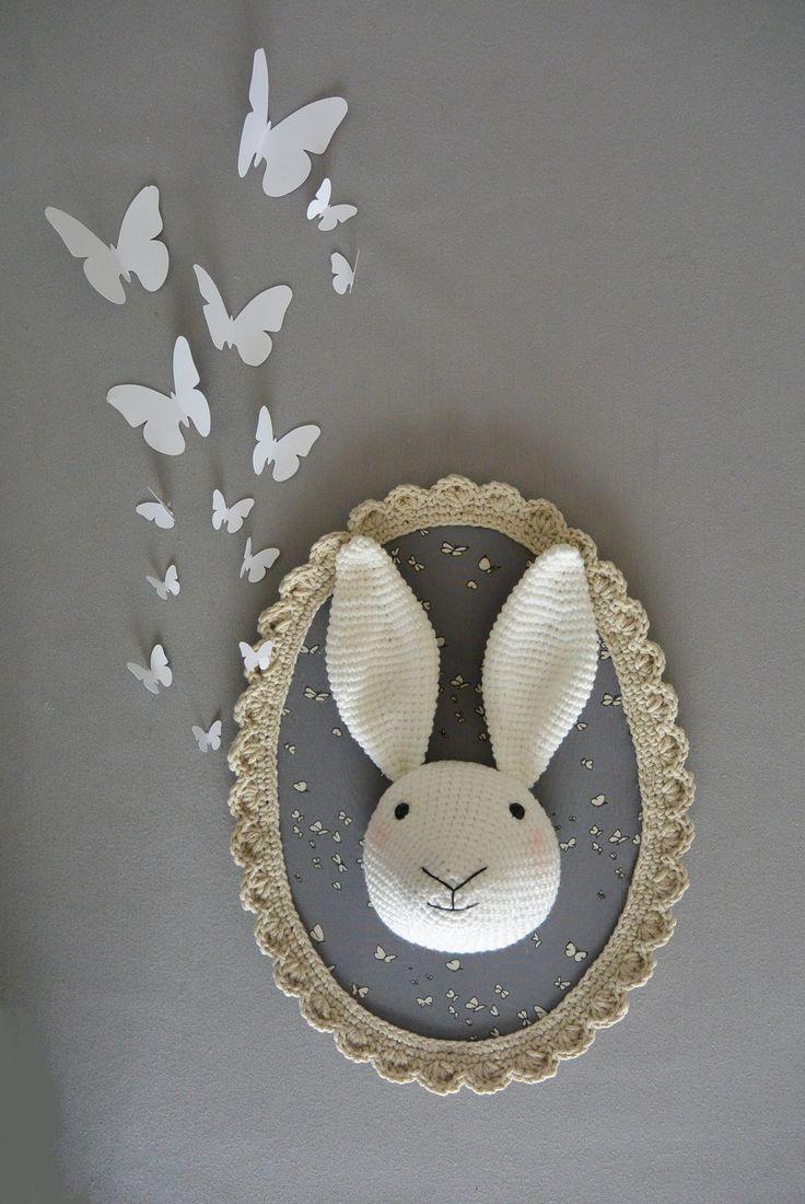 Envolée de papillons papier décoratifs : Décorations murales par ligne-retro