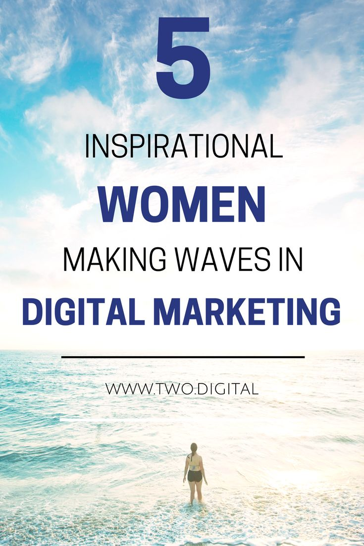 It's never been a better time to be a woman in digital marketing – be inspired by these 5 women who are making waves in the industry, and their success stories! https://www.two.digital/blog/women-making-waves-in-digital-marketing