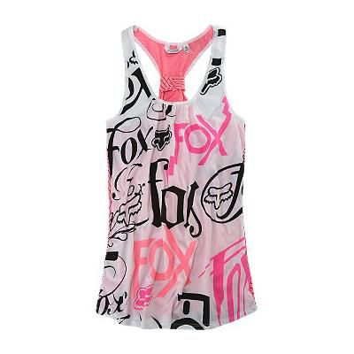 fox brand clothing for girls | Fox Girls PacSun.com - Rattled Band Pink Racer Tank - Avenue7 ...