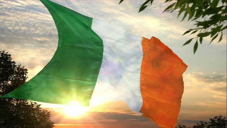 "The Irish National Anthem (English) — John McDermott written by Peadar Kearney set to music with help from  Patrick Heeny,The chorus of ""Amhrán na bhFiann"" or in English, ""A Soldier's Song"", (pron: ow-rawn nuh bee-yunn) is the national anthem of the Republic of Ireland."
