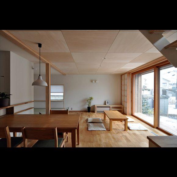 「内野の家C」木製大開口サッシ搭載のゼロエネ住宅   新潟で自然素材の住宅・無垢の家なら オーガニックスタジオ新潟