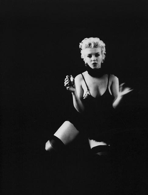 Marilyn Monroe by Milton Greene, 1956