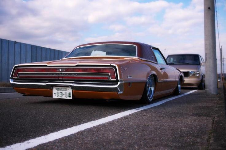 Stanced Thunderbird In Japan Cars Pinterest Cars