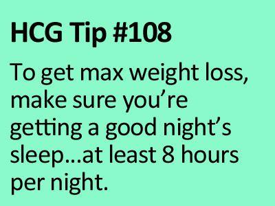 Make sure you get your 'shut eye' on HCG P2. www.diyhcg.com